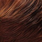 Dark and Medium Red Brown Light Red Gold Blonde Blend