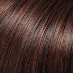 Darkest Brown and Medium Red Blend