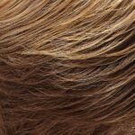 Light Brown and Medium Red Gold Blonde Blend with Light Brown Nape