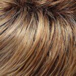 Medium Natural Red Gold Blonde and Pale Natural Gold Blonde Blend