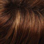 Medium Natural Red and Medium Red Gold Blonde Blend