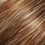 Medium Red Gold Brown and Light Gold Blonde Blend