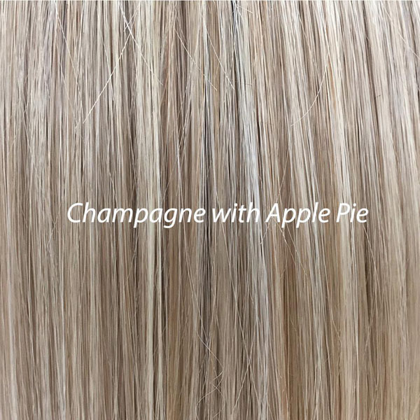 Champagne with Apple Pie