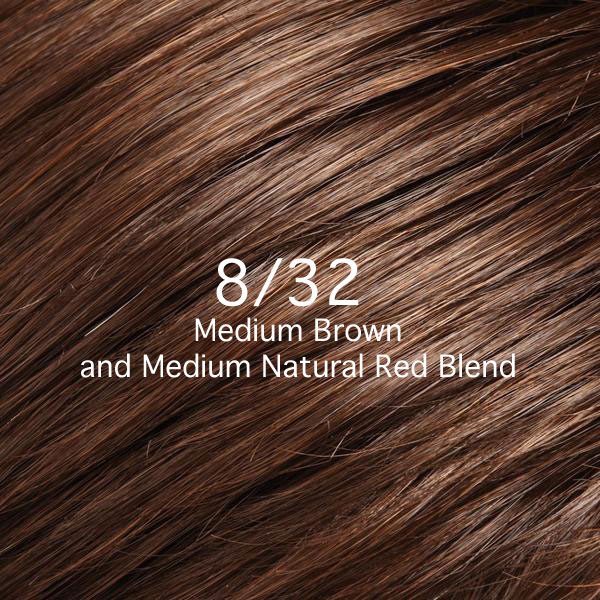 8/32 Medium Brown and Medium Natural Red Blend