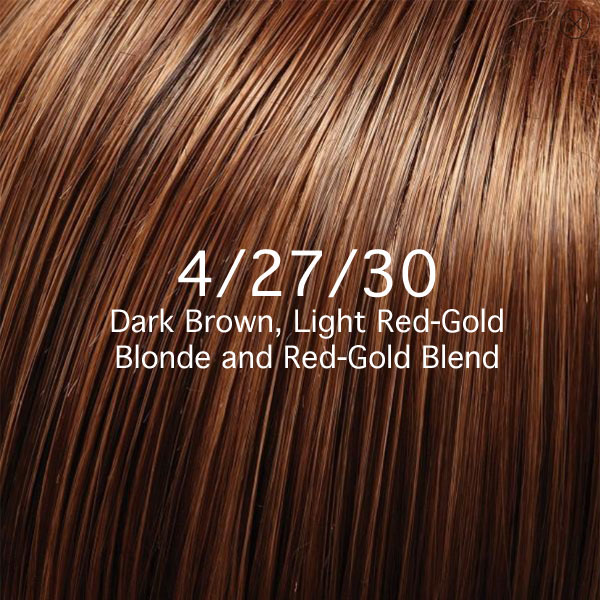 4/27/30 Dark Brown, Light Red-Gold Blonde and Red-Gold Blend